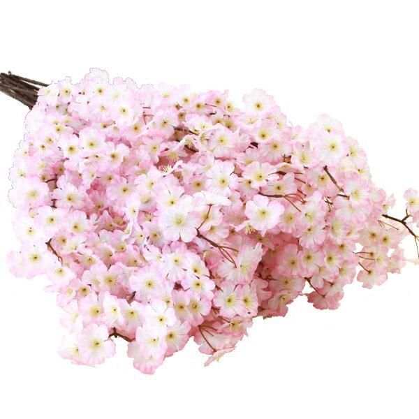 桜 造花 桜の大枝 105cm 12本入 桜 枝 さくら 木 造花 M 3842 ディスプレイ【あす楽対応】