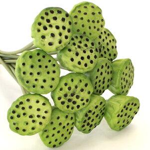 造花水光蓮つぼみ12本セットスプレー単品ハス蓮シルクフラワー