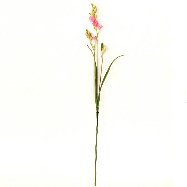 ティディーフリージア スプレー N-4125 フリージア 単品 造花 シルクフラワー