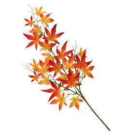 造花 秋のもみじスプレー 単品 FD4149 モミジ 紅葉 フェイク ディスプレイ シルクフラワー
