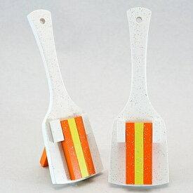 レインボースペシャル(よさこい鳴子)白台-オレンジ・レモン・オレンジ10組セット