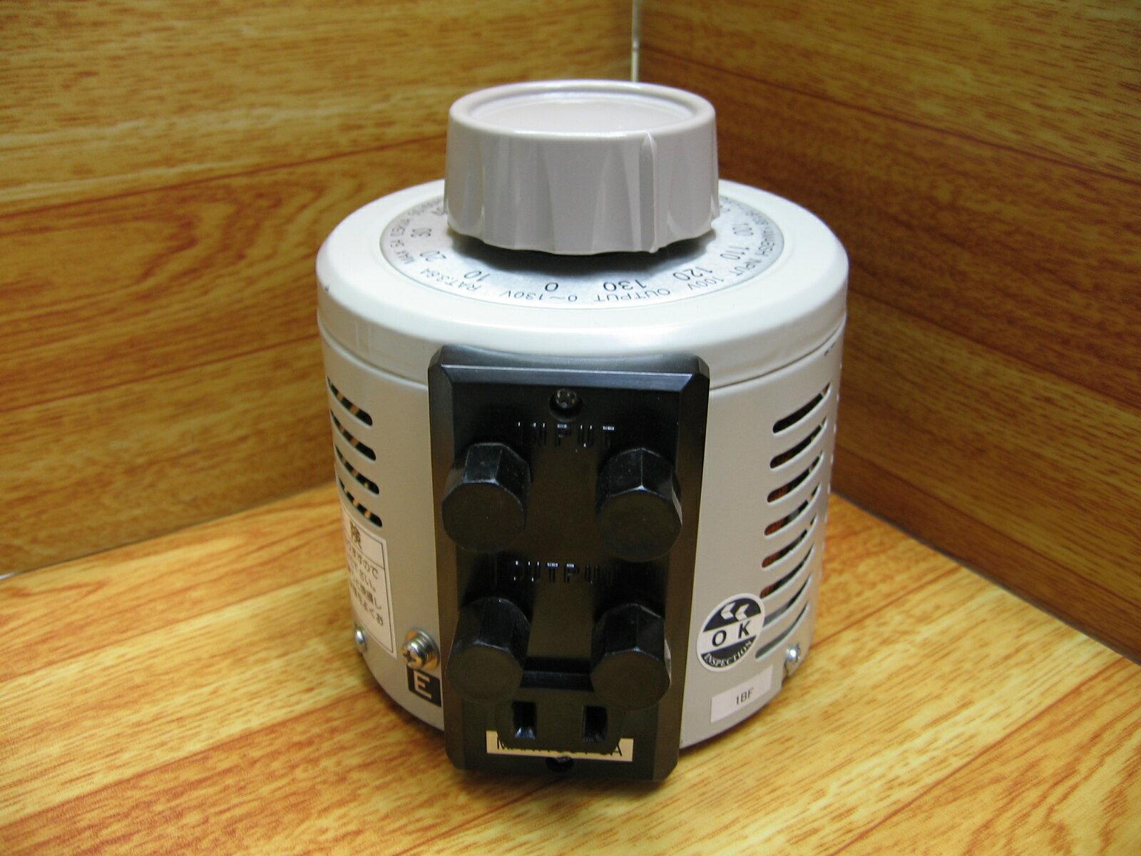 山菱電機 スライドトランス V130-5