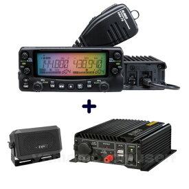 アルインコ(ALINCO) DR-735D(20W) + DC-DCコンバータ DT-920 + 外部スピーカーCB-980 セット