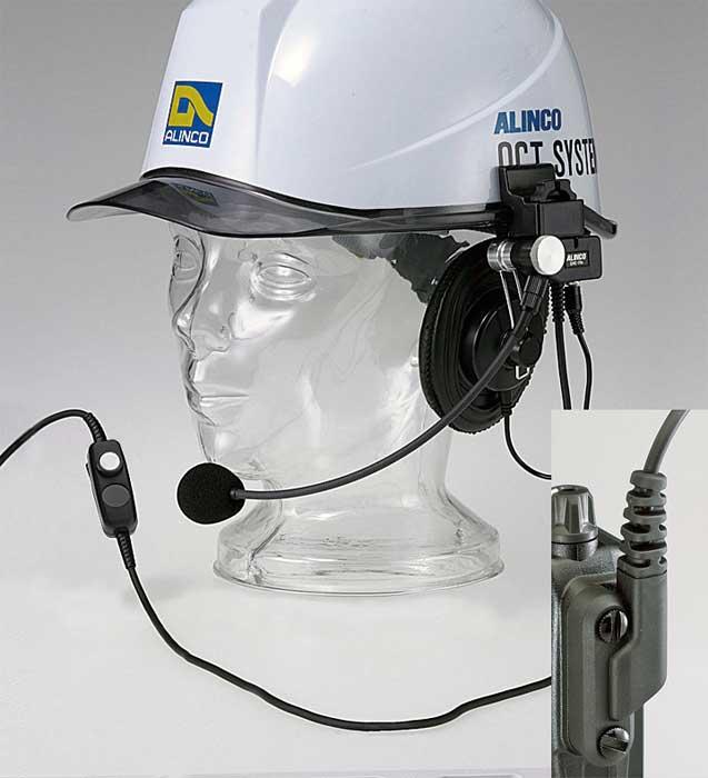 ALINCO EME-40A 工事ヘルメット用ヘットセットDJ-DP10用