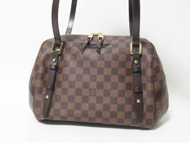 LOUIS VUITTON ルイヴィトン ダミエ リヴィントンGM ショルダーバッグ N41158 超美品 【中古】