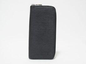 LOUIS VUITTON ルイヴィトン エピ ジッピー・ウォレットウ゛ェルティカル メンズ ファスナー財布 ブラック M60965 美品【中古】