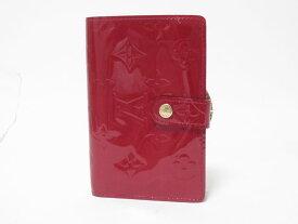 LOUIS VUITTON ルイヴィトン ヴェルニ ポルトフォイユ ヴィエノワ 2つ折り 財布 がま口 旧型 M91980 【中古】