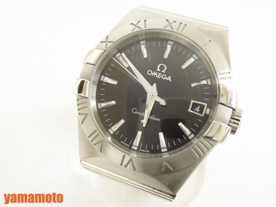 OMEGA オメガ Constellation コンステレーション 35mm メンズウォッチ 腕時計 クォーツ 12310356001001 美品 【中古】