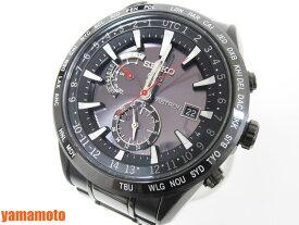 SEIKO セイコー ASTRON アストロン メンズウォッチ GPS電波 腕時計 セラミック チタン ブラック SBXA047 7X52-0AN0 美品 【中古】