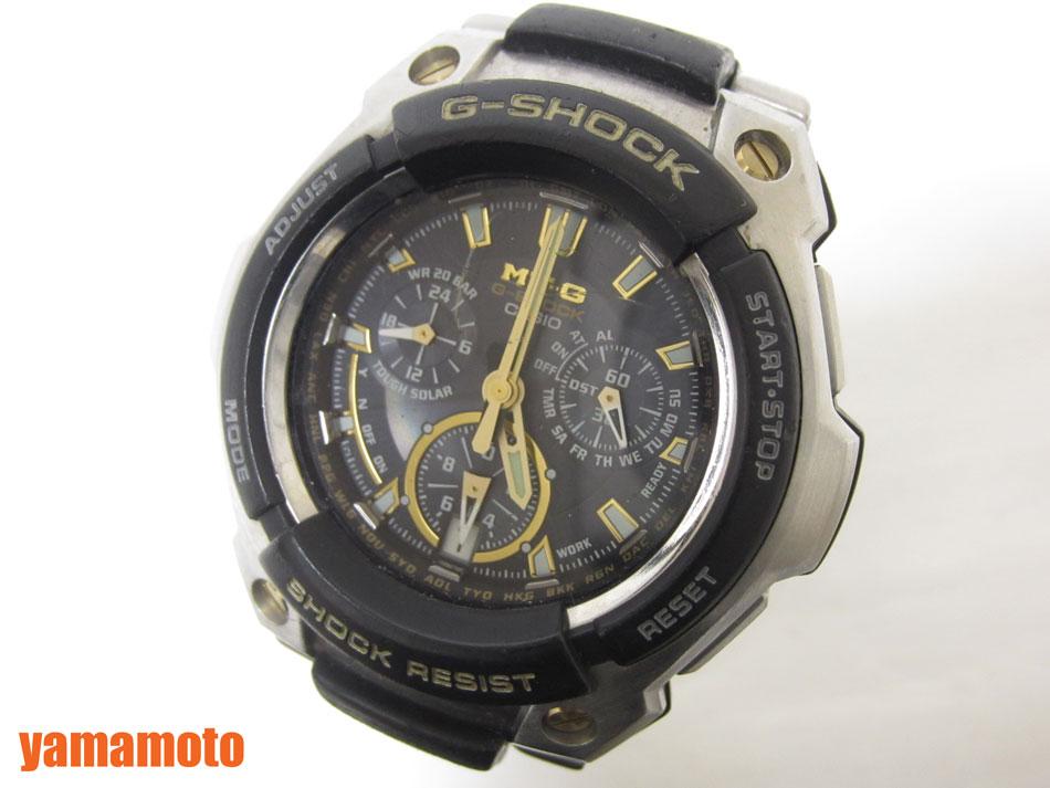 【当店なら!ポイント10倍!要エントリー!】CASIO カシオ G-SHOCK MT-G 腕時計 タフソーラー メンズウォッチ ソーラー電波 MTG-1000G-9AJF【中古】