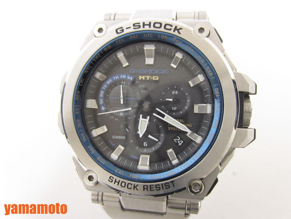 【枚数限定!クーポンで最大5,000円OFF!】CASIO カシオ G-SHOCK MT-G 腕時計 タフソーラー メンズウォッチ ソーラー電波 MTG-G1000D-1A2JF 美品【中古】