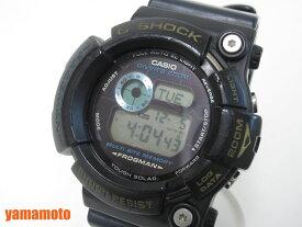 CASIO カシオ FROGMAN フロッグマン トリプルクラウン メンズウォッチ 腕時計 ソーラー ブラック ネイビー GW-200TC【中古】