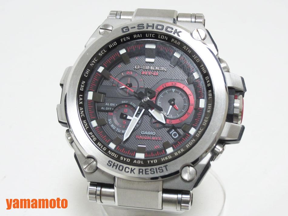 【枚数限定!クーポンで最大5,000円OFF!】CASIO カシオ G-SHOCK MT-G 腕時計 タフソーラー メンズウォッチ 電波時計 レッド MTG-S1000D-1A4JF 【中古】