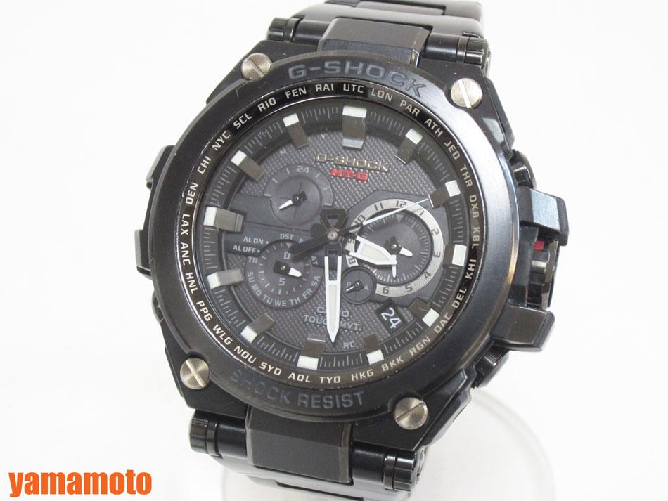 CASIO カシオ G-SHOCK MT-G 腕時計 タフソーラー メンズウォッチ ソーラー電波 MTG-S1000BD-1AJF 【中古】