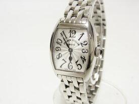 FRANCK MULLER フランクミュラー トノウカーベックス インターミディエ レディース ウォッチ 腕時計 シルバー 2252QZ 美品 【中古】