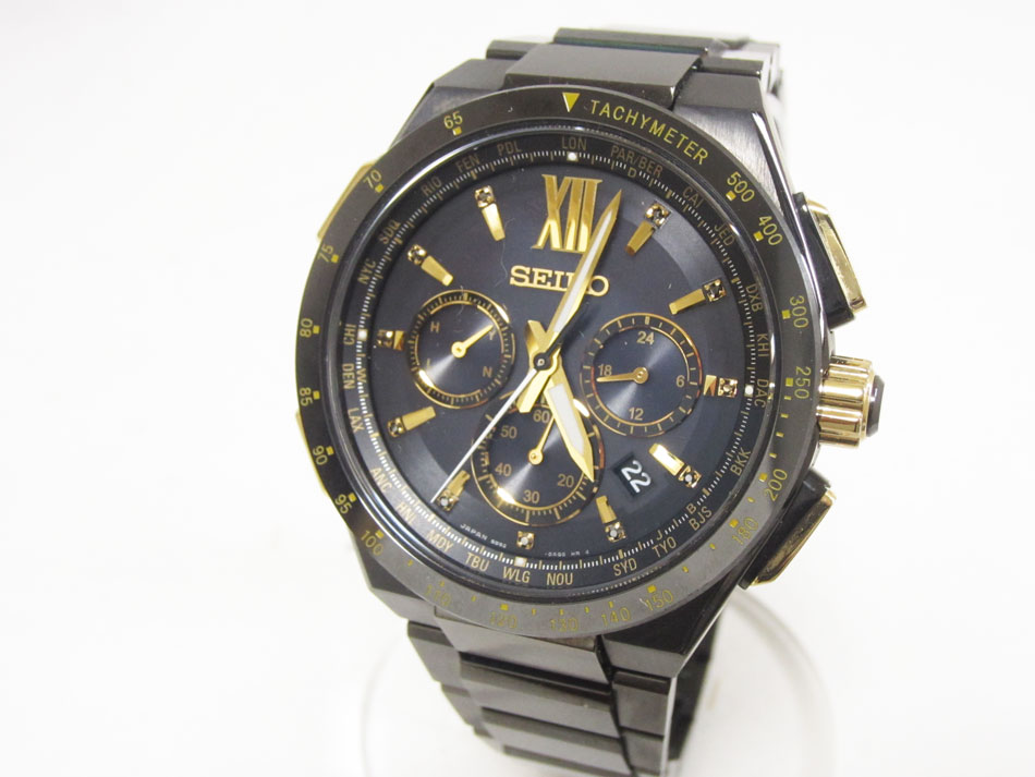 SEIKO セイコー BRIGHTZ ブライツ ソーラー電波 メンズウォッチ 腕時計 フライトエキスパート 限定モデル SAGA212 超美品【中古】