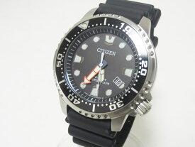 CITIZEN シチズン PROMASTER プロマスター エコドライブ メンズウォッチ 腕時計 ラバーベルト 逆輸入品 150-28E 美品 【中古】