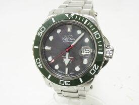 Kentex ケンテックス MARINEMAN マリンマン SEAHOURSE シーホース メンズウォッチ 腕時計 グリーン 200m ダイバー 自動巻き S706M 199本限定【中古】