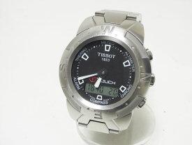 TISSOT ティソ Tタッチ TTOUCH 腕時計 メンズウォッチ ステンレス デジアナ TKQ-OR-103580 Z252/352 【中古】