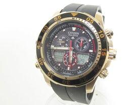 CITIZEN シチズン PROMASTER プロマスター エコドライブ メンズウォッチ 腕時計 ヨッティングワールドタイム JR4046-03E C660-S067634 【中古】