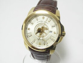 HUNTING WORLD ハンティングワールド メンズウォッチ 腕時計 ゴールデンクエスト クォーツ 5000本限定 美品【中古】