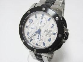 epos エポス スポーツクロノ メンズウォッチ 腕時計 自動巻き デイデイト 3388SBWHM2 美品【中古】