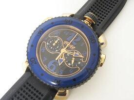 GaGa MILANO ガガミラノ クロノスポーツ45mm メンズウォッチ 腕時計 クォーツ 701101【中古】