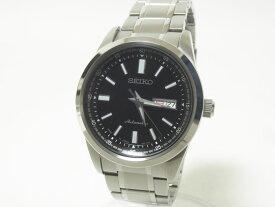 SEIKO セイコー MECHANICAL セイコーセレクション メカニカル メンズウォッチ 腕時計 黒文字盤 自動巻き AT 2021年6月購入 SARV003 4R36-05Z0 超美品【中古】