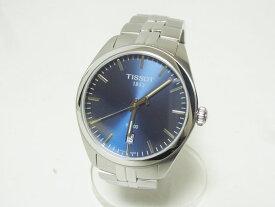 TISSOT ティソ PR100 腕時計 メンズウォッチ ステンレス ブルー文字盤 T101410 新品同様 【中古】