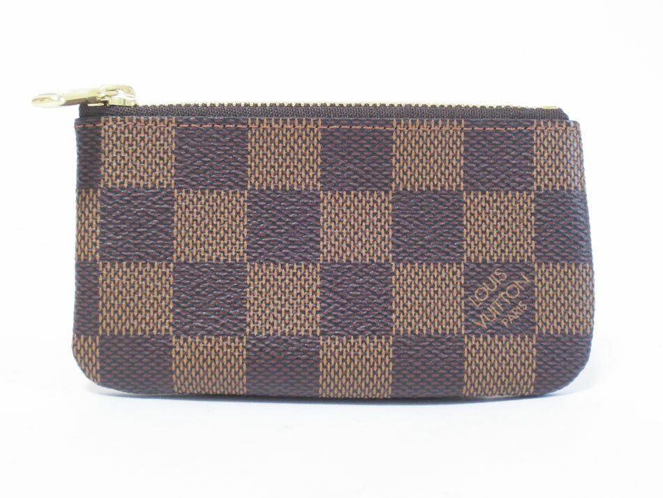 LOUIS VUITTON ルイヴィトン ダミエ ポシェットクレ コインケース 財布 キーリング N62658 未使用品【中古】