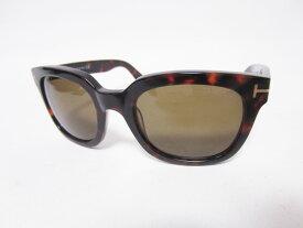 TOM FORD トムフォード レディース サングラス 眼鏡 Campbell キャンベル ブラウン TF198 56J 53□22 美品 【中古】