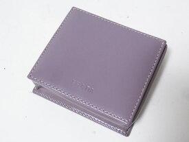 PRADA プラダ 小銭入れ コインケース 財布 ケース カーフ パープル SAZZOLATO LAMPONE M634 超美品 【中古】