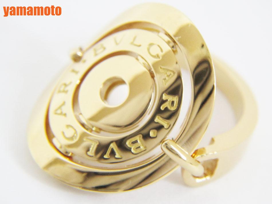 BVLGARI ブルガリ アストラーレ リング 指輪 K18 YG 750 イエローゴールド 11号 美品【中古】