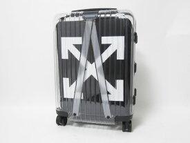 RIMOWA リモワ offwhite オフホワイト キャリーバッグ スーツケース 旅行バッグ トラベルケース スケルトン See Through シースルー クリア 37L 8329000491 美品【中古】