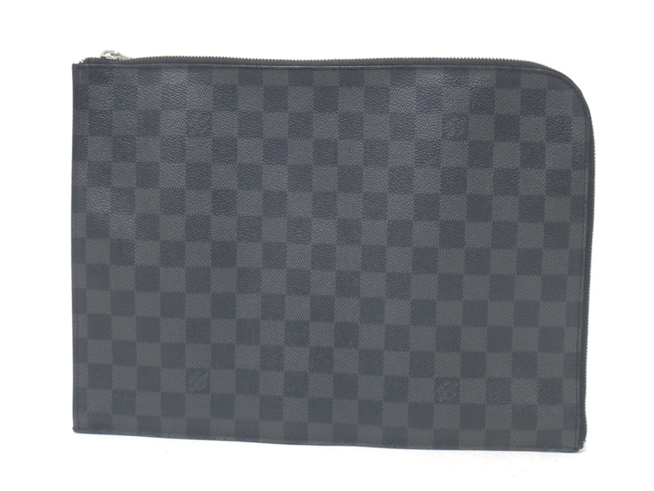 LOUIS VUITTON ルイヴィトン ダミエグラフィット クラッチバッグ セカンドバッグ ポシェット・ジュールGM NW N41501 【中古】