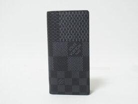 LOUIS VUITTON ルイヴィトン ダミエグラフィット 3Dキャンバス ポルトフォイユブラザ メンズ 長財布 2つ折り N60436 未使用品【中古】