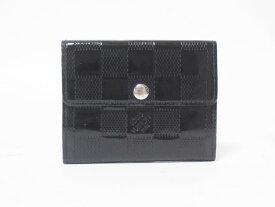 LOUIS VUITTON ルイヴィトン ダミエヴェルニ ラドロー コインケース 小銭入れ カードケース 財布 ブラック M92134【中古】