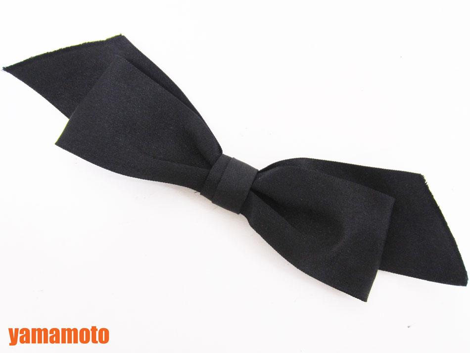 CHANEL シャネル ブローチ リボン ブラック シルク サテン ウ゛ィンテージ 美品【中古】