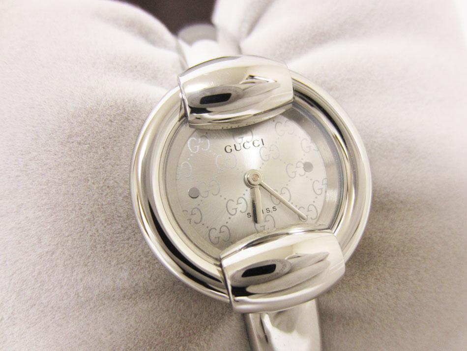 GUCCI グッチ レディース ウォッチ 腕時計 バングル シルバー 1400L YA014512 未使用品 【中古】