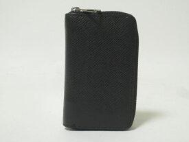 LOUIS VUITTON ルイヴィトン タイガ ジッピーコインパース コインケース 財布 メンズ ブラック M30511 【中古】
