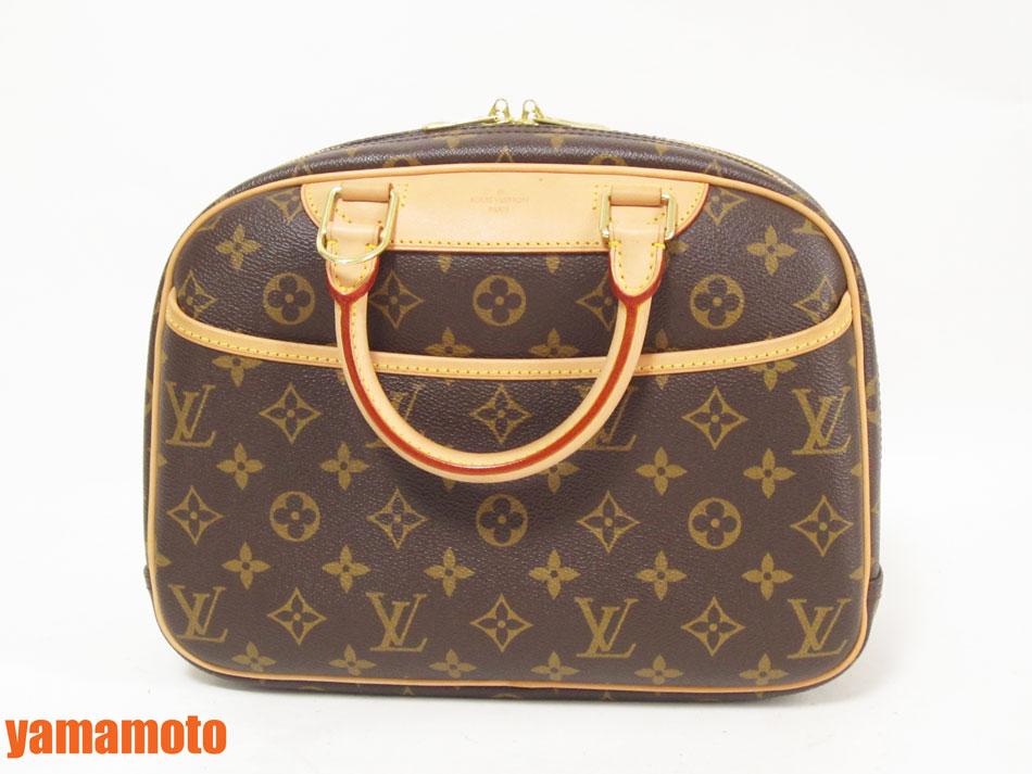 LOUIS VUITTON ルイヴィトン モノグラム トゥルーヴィル ハンドバッグ 化粧バッグ M42228 超美品 【中古】