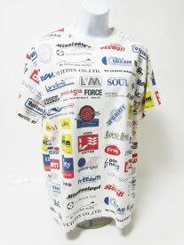 LOUIS VUITTON ルイヴィトン メンズ Tシャツ トップス シャツ 半袖 ロゴ ホワイト コットン S 美品【中古】