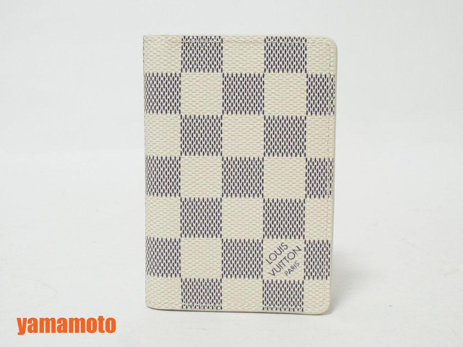 LOUIS VUITTON ルイヴィトン ダミエ アズール カードケース ポケット・オーガナイザー N63145 新品 【中古】