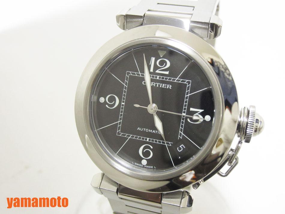 Cartier カルティエ パシャC 35mm レディースウォッチ 腕時計 AT W31076M7 オーバーホール済み 新品同様 【中古】