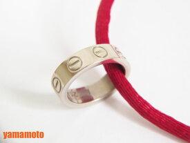 Cartier カルティエ ベビーラブ ペンダント ネックレス ロープ付き 750 K18 WG ホワイトゴールド 美品【中古】