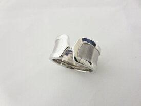 Cartier カルティエ C2 2C リング LM 指輪 750 K18 WG ホワイトゴールド 55 新品仕上げ【中古】