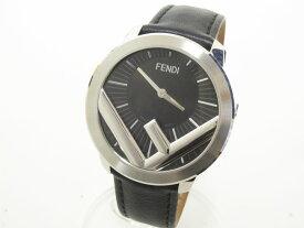 FENDI フェンディ ラナウェイ メンズウォッチ 腕時計 革バンド クォーツ 71000L 美品【中古】
