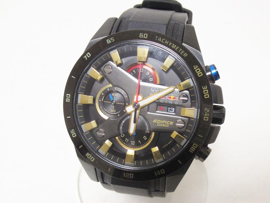 CASIO カシオ EDIFICE エディフィス 腕時計 メンズウォッチ Red Bull レッドブル レーシングリミテッドエディション EFR-540RBP 美品【中古】