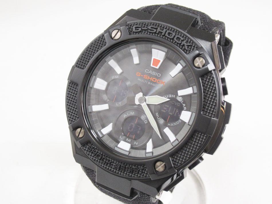 CASIO カシオ G-STEEL Gスチール 電波ソーラー メンズウォッチ 腕時計 タフソーラー GST-W130BC-1AJF 未使用品【中古】