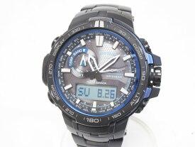 CASIO カシオ PROTREK プロトレック トリプルセンサー タフソーラー 電波 腕時計 メンズウォッチ PRW-6000YT-1BJF 美品【中古】